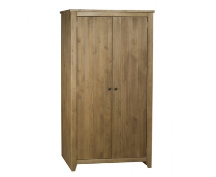 Brazilian solid wood 2 Door Wardrobe