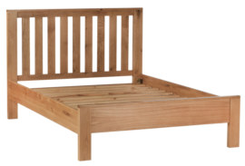 Mews Solid Oak Bed