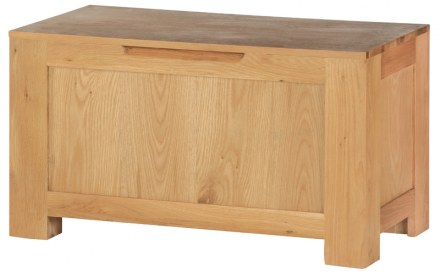 Mews Solid Oak Blanket Box