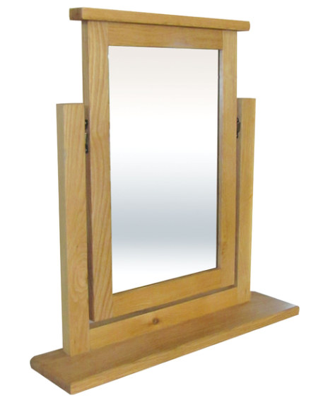 Mews Solid Oak Trinket Mirror
