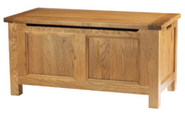 Dublin Solid Oak Solid Oak Blanket box
