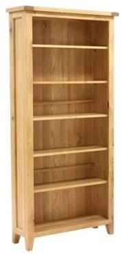 Vancouver Petite 6ft Open Bookcase