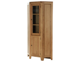 Vancouver Petite Corner Display Cabinet