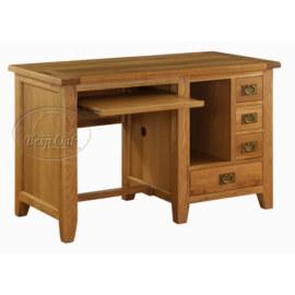 Vancouver Premium Solid Oak Computer Desk