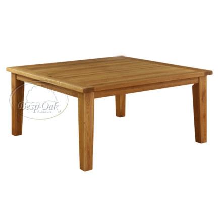 Vancouver Premium Solid Oak Square Fix Top Dining Table
