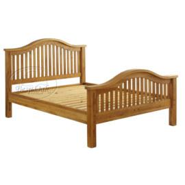 Vancouver Premium Solid Oak Bed
