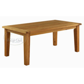 Vancouver Premium Solid Oak Fix Top Dining Table