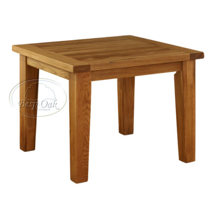 Vancouver Premium Solid Oak Square Fix Top Dining Table