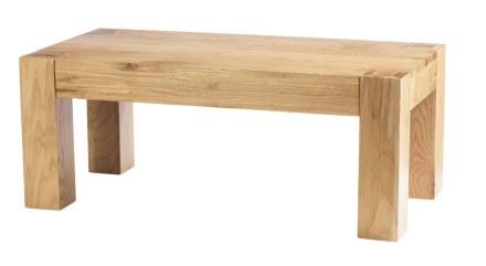 Mews Solid Oak Coffee Table
