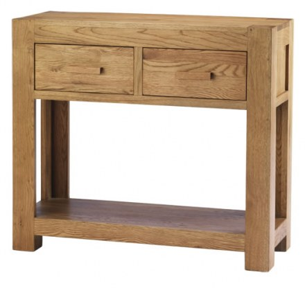 Mews Solid Oak Console Table