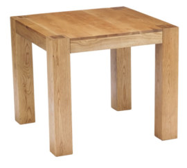 Mews Solid Oak Square Dining Table