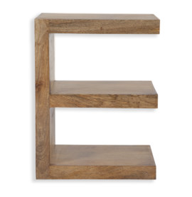 Cube Petite Mango 'E' Shaped Shelving Unit
