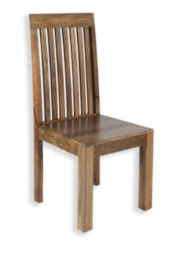 Cube Petite Mango Slatted Dining Chair