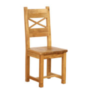 Vancouver Petite Oak Dining Chair with Oak Seat : Sherwood Oak Dining Chair with Oak Seat-0
