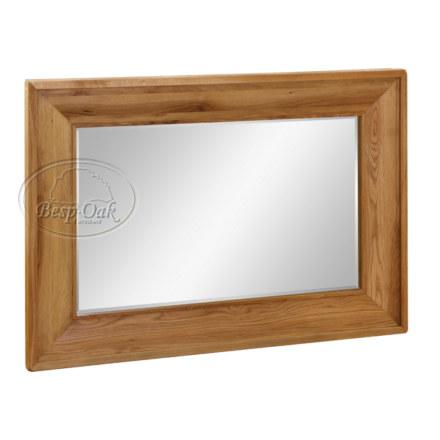 Vancouver Premium Solid Oak Large Rectangular Mirror