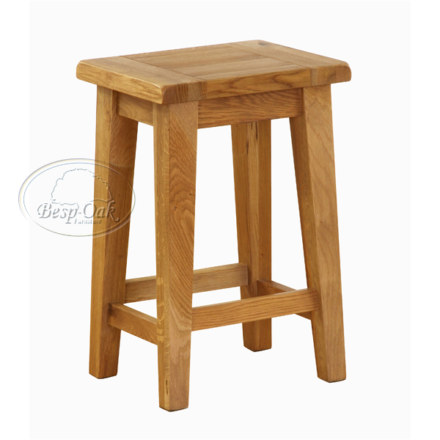 Vancouver Premium Solid Oak Kitchen Stool