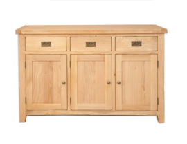Melbourne Natural 3 Door Sideboard