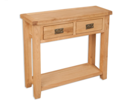 Melbourne Natural Console Table
