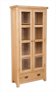 Melbourne Natural Glazed Cabinet