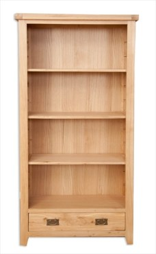 Melbourne Natural Large Bookcase