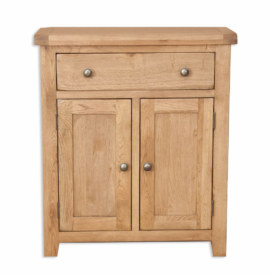 Melbourne Country Oak Hall Cabinet Cupboard