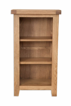 Melbourne Country Oak Small Bookcase Dvd Rack