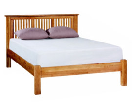 Paris Solid Oak Bed
