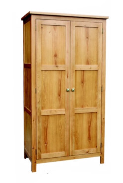 Paris Solid Oak Wardrobe