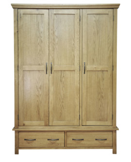 Wansford Triple Wardrobe