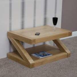 Z Oak Coffee Table