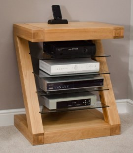 Z Oak Hi-Fi Unit