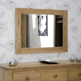 Z Oak Medium Mirror