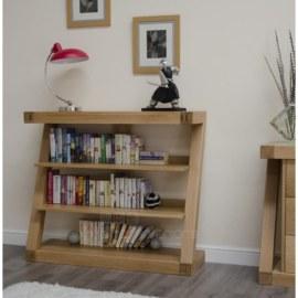 Z Oak Small Bookcase