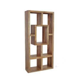 Cube Petite Mango Tall Display Cabinet