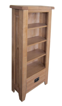 Barcelona Solid Oak CD/DVD Chest Cabinet
