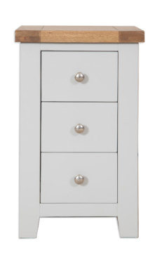 Melbourne French Grey Bedside Cabinet