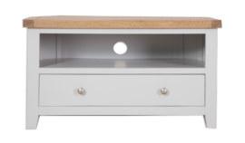 Melbourne French Grey Corner TV Cabinet