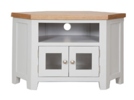 Melbourne French Grey Glazed TV Cabinet