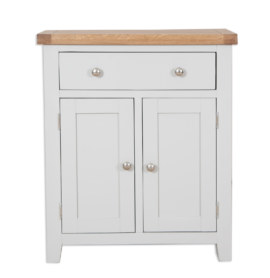 Melbourne French Grey Hall Cabinet