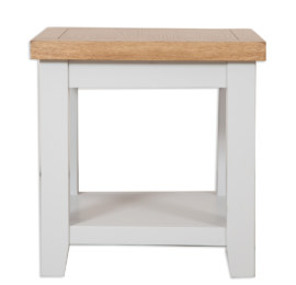 Melbourne French Grey Lamp Table