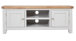 Melbourne French Grey Plasma TV Cabinet