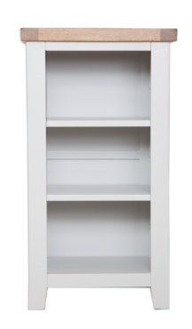 Melbourne French Grey Small Bookcase DVD Rack