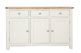 Melbourne Ivory 3 Door Sideboard