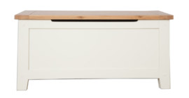 Melbourne Ivory Blanket Box