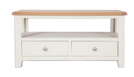 Melbourne Ivory Coffee TV Table
