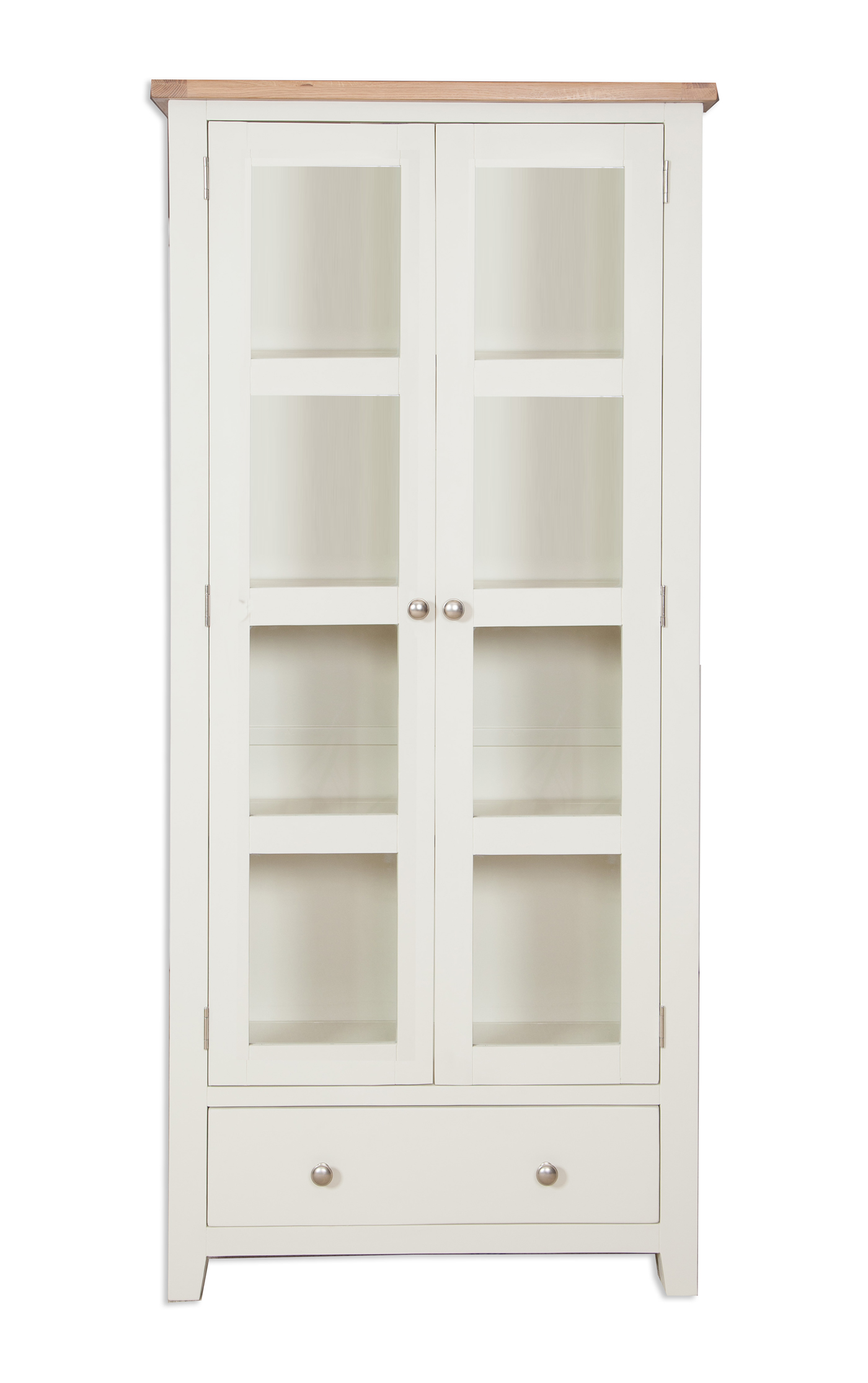 Melbourne Ivory Glazed Display Cabinet Home Max Furniture