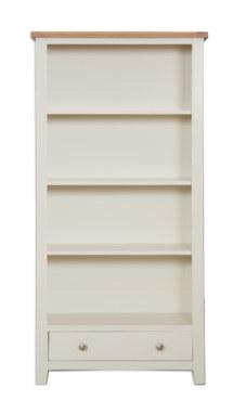 Melbourne Ivory Large Bookcase