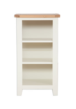 Melbourne Ivory Small Bookcase DVD Rack