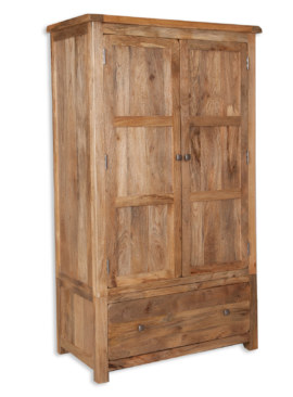 Odisha 2 Door 2 Drawer Wardrobe