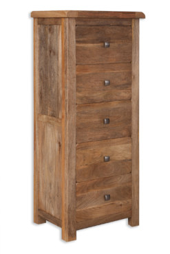 Odisha 5 Drawer Tall Chest